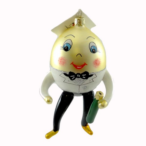 Laved Italian Ornaments New Years Egg Champange Bottle Tux  -  Tree Ornaments - image 1 of 2