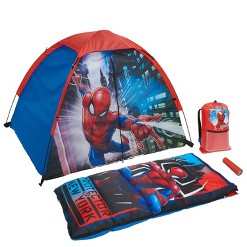 Marvel Spider-Man 4pc Camp Kit
