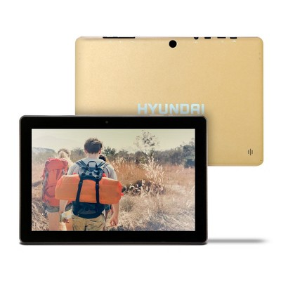 "Hyundai Koral 10"" Tablet 10X3 2GB 32GB 2MP/5MP Wifi Android 9.0 Gold"