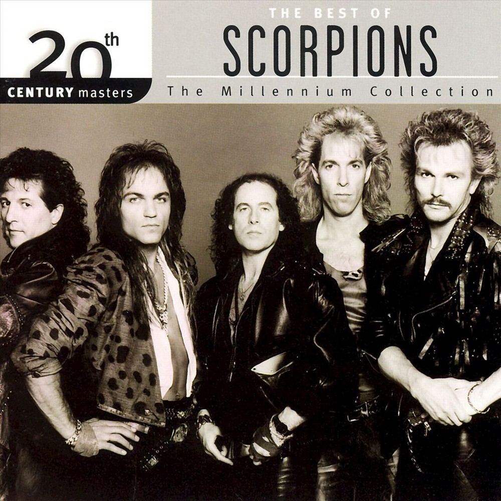 Scorpions 20th Century Masters The Millennium Collection Cd