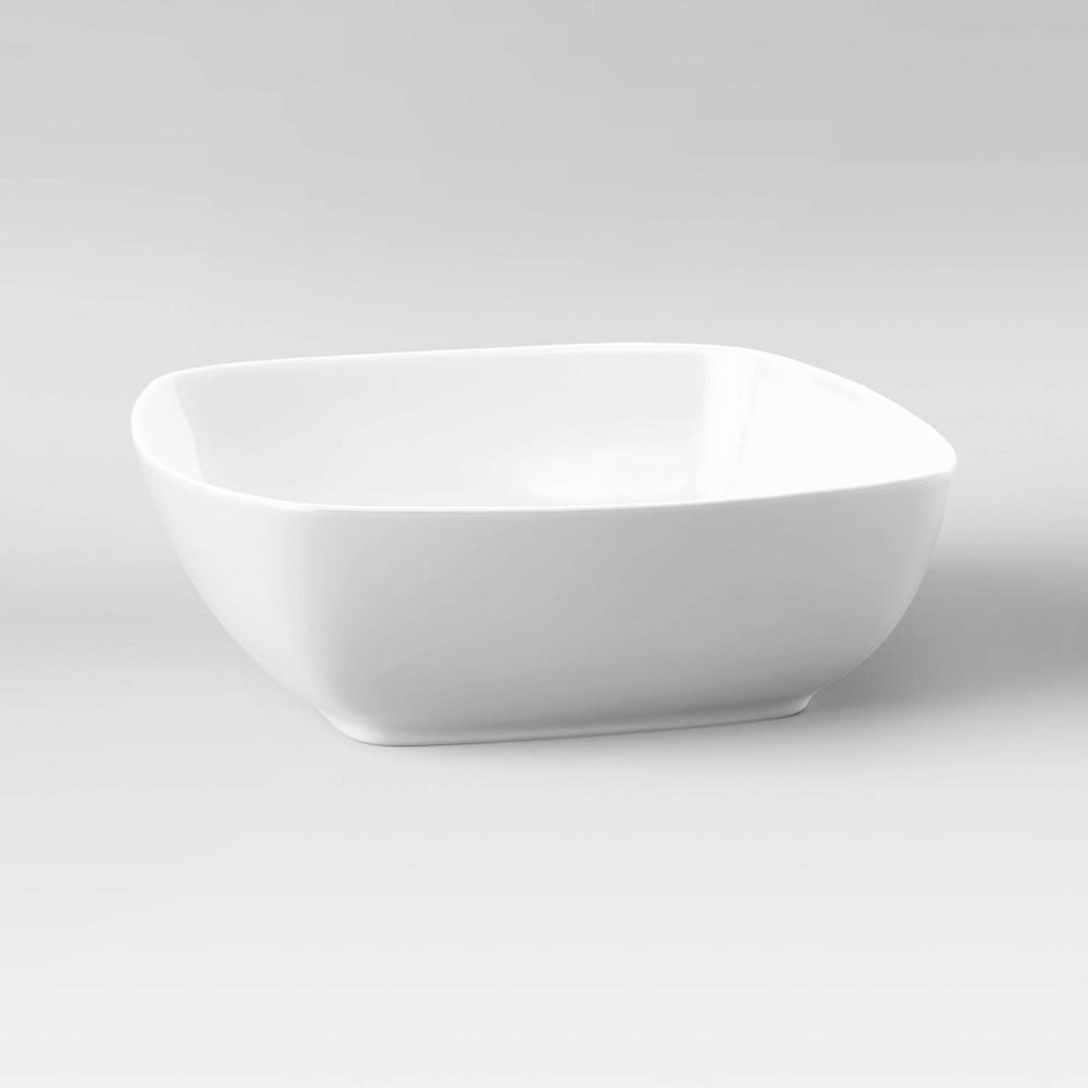 Square Serving Bowl 200oz Porcelain - Threshold Promos