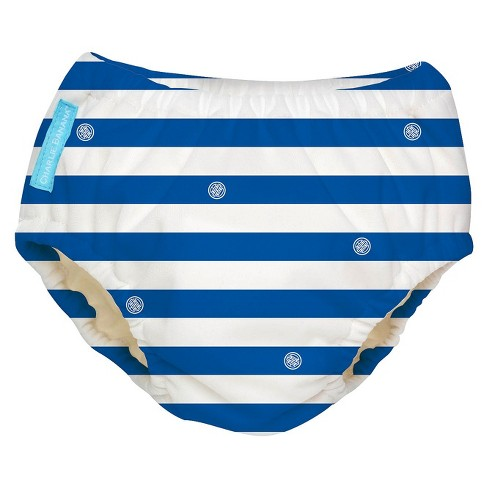 Charlie Banana Reusable Swim Diaper - Blue Stripe (Select Size) - image 1 of 1
