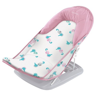 Summer Infant Deluxe Baby Bather Seahorse - Pink/Aqua