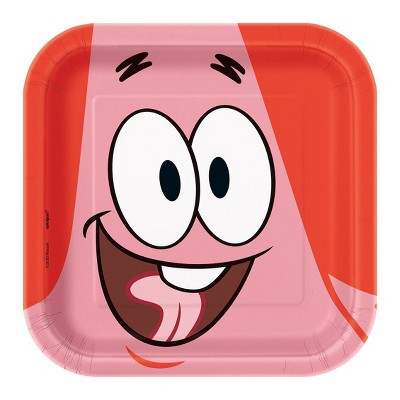 "SpongeBob SquarePants 7"" 8ct Party Plates"