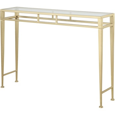 Gold Coast Julia Hall Console Table Gold - Breighton Home