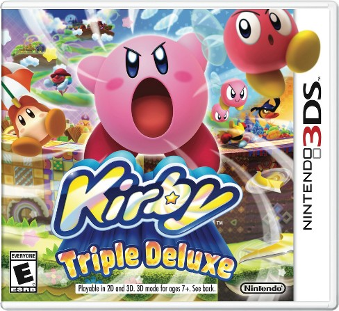 Kirby Triple Deluxe Nintendo 3DS - image 1 of 7