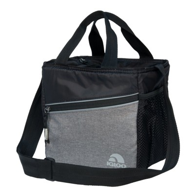 Igloo 9 Can Balance Mini City Cooler Bag - Gray/Black