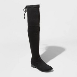 Women's Sidney Microsuede Over the Knee Boots - A New Day™