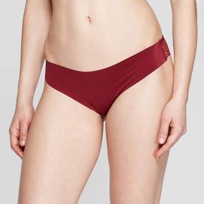 Women's Laser Cut Thong with Lace Back - Auden™