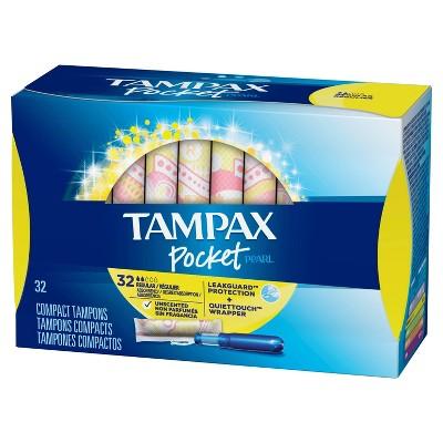 Tampons: Tampax Pocket Pearl