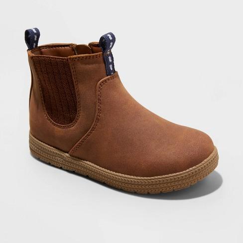 Toddler Boys' Esteban Chukka Boots - Cat & Jack™ Brown : Target