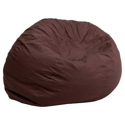 Oversized Cotton Bean Bag Chair Belnick Target