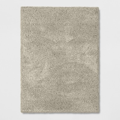 5'X7' Solid Eyelash Woven Shag Rug Tan - Project 62™