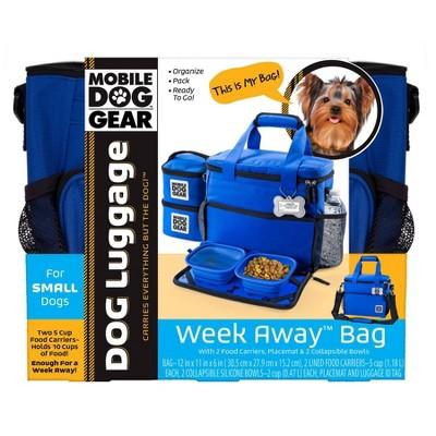 Overland Travelware - Small Dog - Week Away Bag - Royal Blue