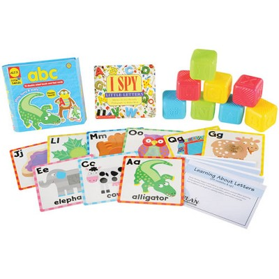 Kaplan Early Learning Learning about Letters Learning Kit  - Bilingual