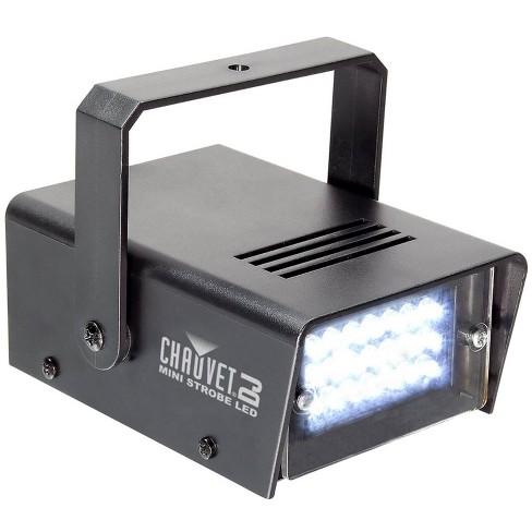 Chauvet DJ CH730 LED Adjustable 1-12 Flash/Sec Mini Strobe Club Light Effect - image 1 of 4