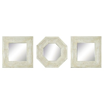 "9.5"" x 8.5"" Set Decorative Mirror - PTM Images"