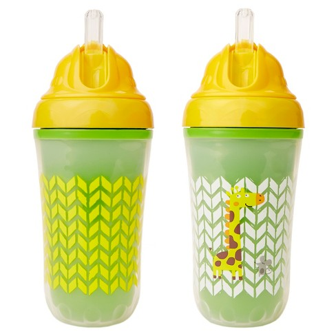 Cheeky® Baby Straw Cups - Giraffe -2ct - image 1 of 5