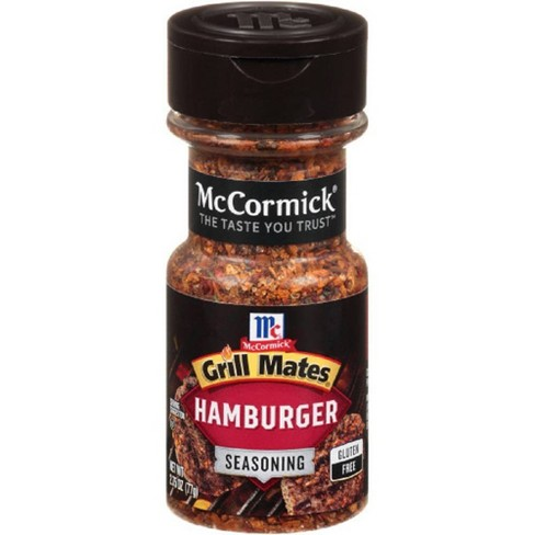 McCormick Grill Mate Hamburger Seasoning - 2.75oz - image 1 of 4