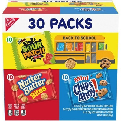 Nabisco Sour Patch Kids Variety Pack - 30ct/25oz