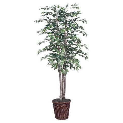 Artificial Variegated Deluxe (6ft) Green/White - Vickerman® - image 1 of 2