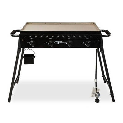Country Smokers 4-Burner Griddle 10667 Black