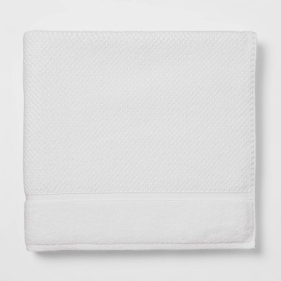 Performance Bath Sheet White Texture - Threshold™