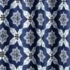Lush Decor Medallion Shower Curtain Navy - image 3 of 3