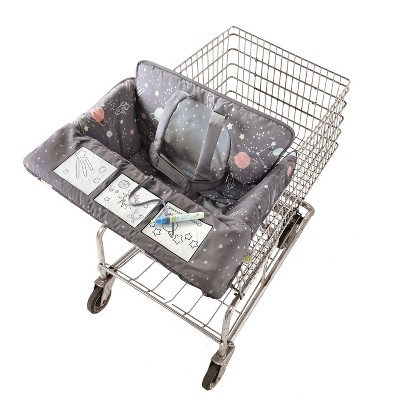 Go by Goldbug Shopping Cart Cover Space - Watercolor