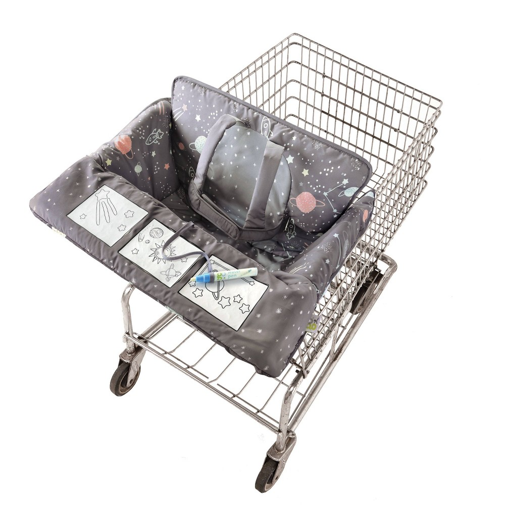 Image of Go by Goldbug Shopping Cart Cover Space - Watercolor