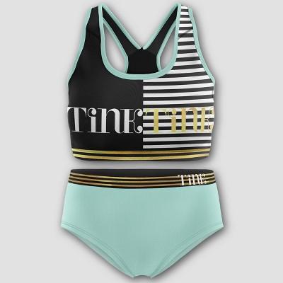 Girls' Tinkerbell Bra and Underwear Set