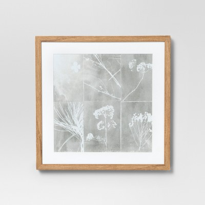 Framed Botanical Wall Print 16 X 16 - Project 62™