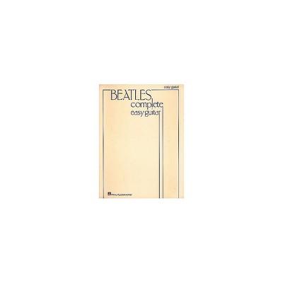 Hal Leonard Beatles Complete Easy Guitar Songbook