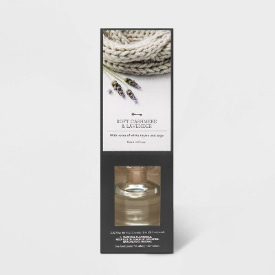 2.02 fl oz Soft Cashmere and Lavender Oil Reed Diffuser - Threshold™
