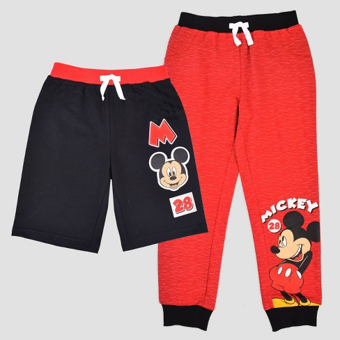 c4fa3f1b0c Toddler Boys' Disney Mickey Mouse & Friends Mickey Mouse Pants & Shorts Set  - Red