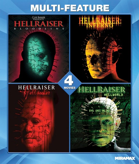 Hellraiser collection film set (Blu-ray) - image 1 of 1
