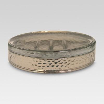 Electroplating Soap Dish Silver - Threshold™