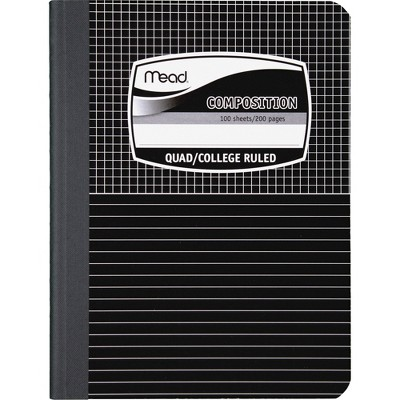 """Acco Composition Book Special Ruled 100 Shts 9-3/4""""x7-1/2"""" BE/ME 09000"""