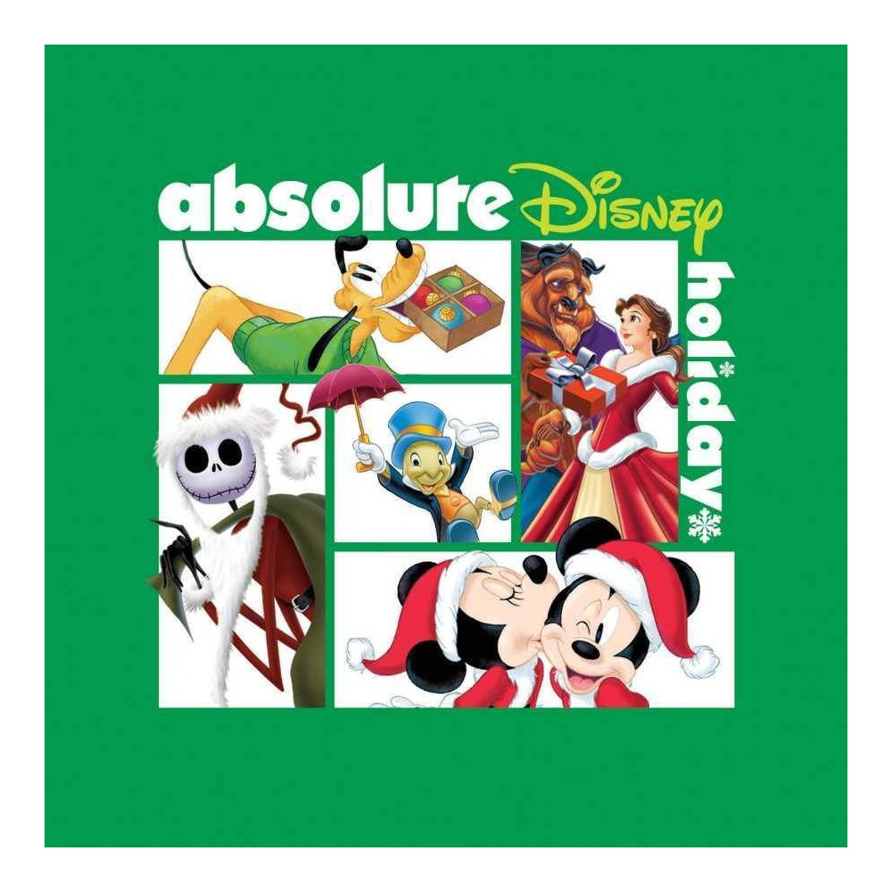 Various Artists Absolute Disney Holiday Cd