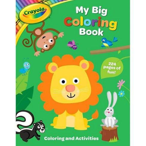Crayola My Big Coloring Book Crayola Buzzpop Paperback Target