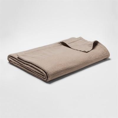 Woven Bed Blanket (Full/Queen)Khaki - Threshold™