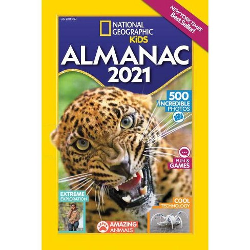 Nytimes Best Sellers 2021 National Geographic Kids Almanac 2021, U.S. Edition   (National
