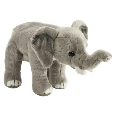 Lelly National Geographic Elephant Plush Toy
