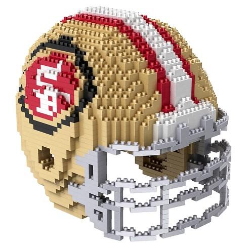 05743edf7d9 San Francisco 49ers Forever Collectibles 3D BRXLZ Mini Helmet   Target