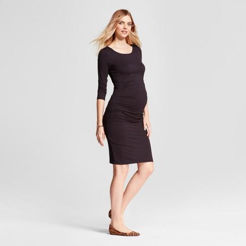 47f8cb3cac0 Maternity 3 4 Sleeve Pleated Dress - Isabel Maternity by Ingrid   Isabel™