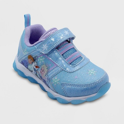 Toddler Girls' Frozen Athletic Sneakers Blue