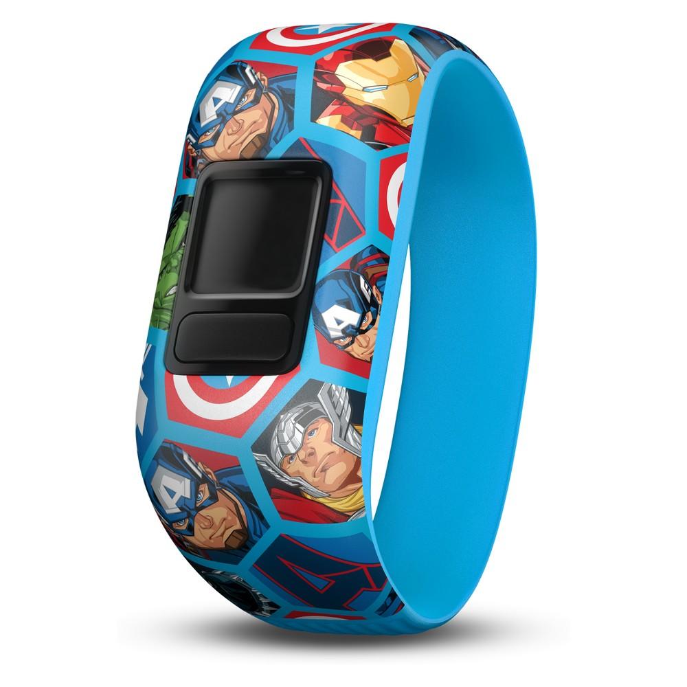 Garmin vivofit jr. Accessory Band - Captain America (Stretchy), Multi-Colored