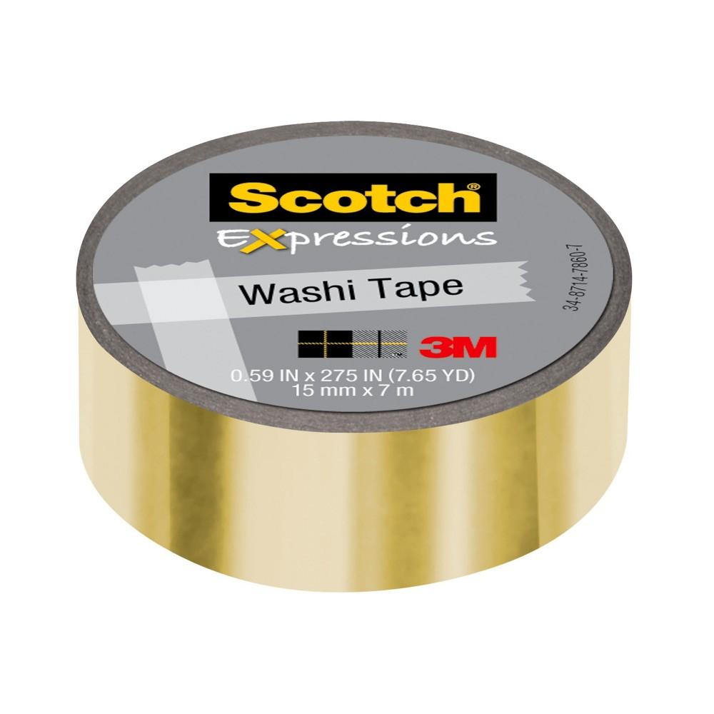 Craft Tape 7.65yd Multicolored Scotch, Multi-Colored