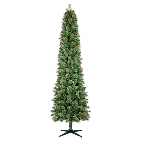 9 Slim Christmas Tree Prelit