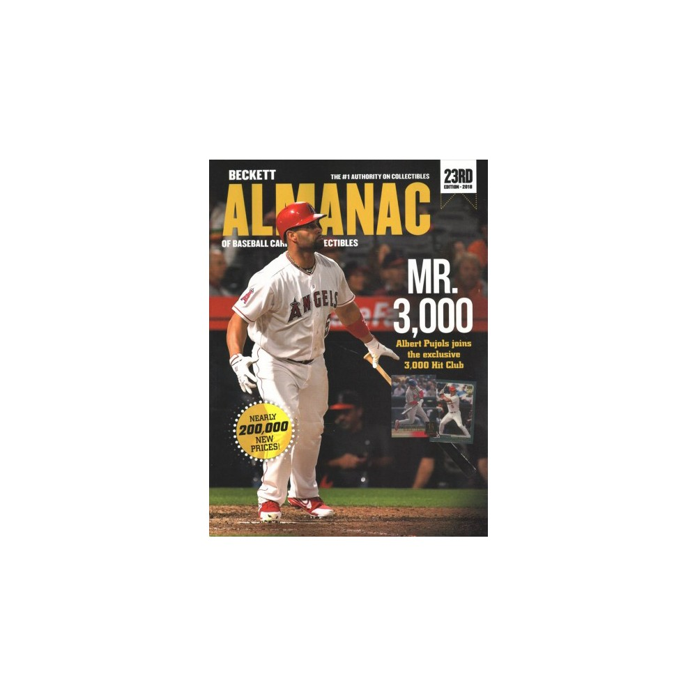 Beckett Almanac of Baseball Cards & Collectibles 2018 - 23 (Paperback) Beckett Almanac of Baseball Cards & Collectibles 2018 - 23 (Paperback)